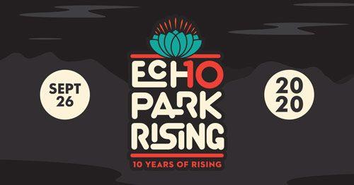 Echo Park Rising 10th anniversary logo - Facebook cover