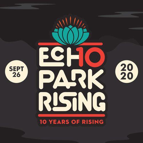 Echo Park Rising 10th anniversary logo - Square