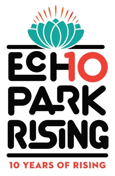 10 Years of Rising logo